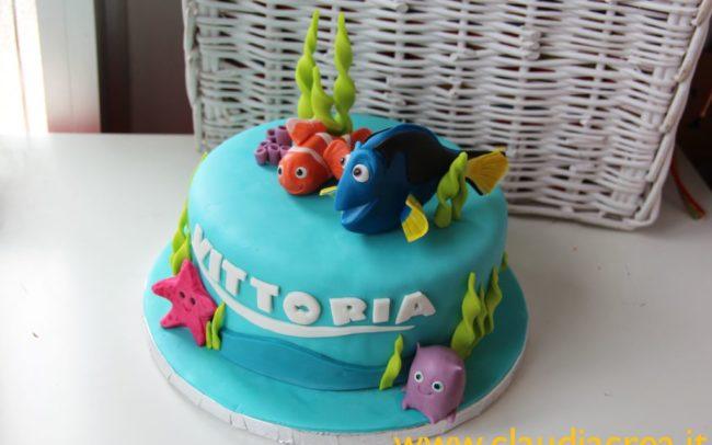 compleanno-a-tema-Dory-torta-cakepop-biscotti-decorati-claudiacrea-firenze