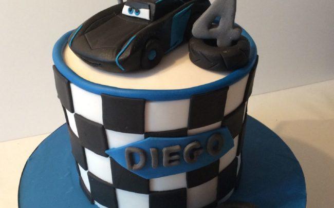 cake design torta cars 3 claudia crea firenze