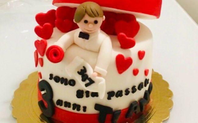 cake design romantico