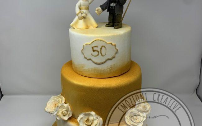 torta-50esimo-anniversario-claudiacrea-firenze